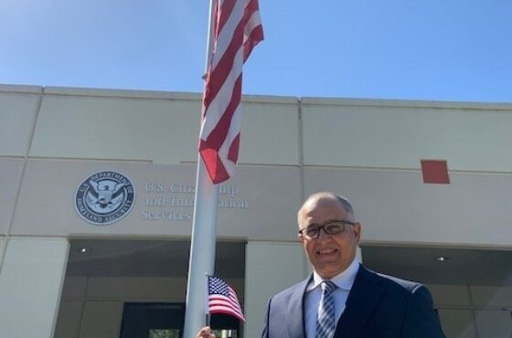 Franklin Narvaez, The Kinetic Co's Southeastern Territory Sales Manager, becomes a US Citizen