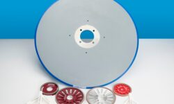 Kinetic provides log saw blades for the tissue converting industry